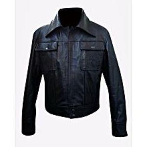 TASHCO ClothingMen's Black Leather Jacket High Quality