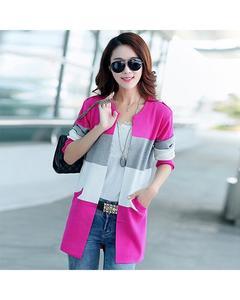 Multicolour Coat For Women