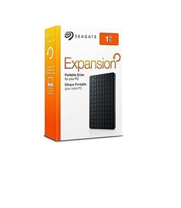 Seagate 1Tb Portable External Hard Drive Usb 3.0 - Black