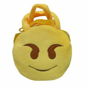 Duang Duang Cute Emoji Emoticon Shoulder School Child Bag Backpack Satchel Rucksack Handbag
