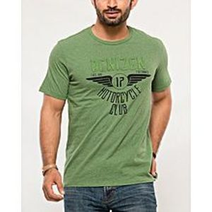 DenizenMulticolor Cotton T-Shirt for Men-Special Online Price