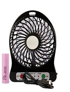 Portable rechargeble plastic USB Fan with Power bank