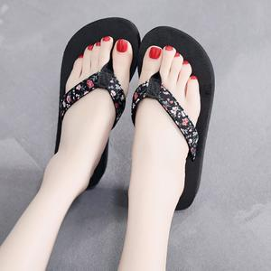Bohemian Ethnic Style Flat Shoes Female Sandals  Sandals Beach Slipper