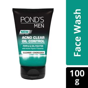 Pond's Men Acne Clear Oil Control Face Wash (Indonesia) - 100 g
