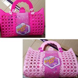 Kids/Girls Beauty Kit in Cute Portable Basket - GPBK