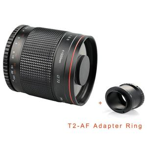 LALA Portable 500mm F / 8 Ultra-long Focal Lens for Canon/Pentax/M4/3/SONY/NEX