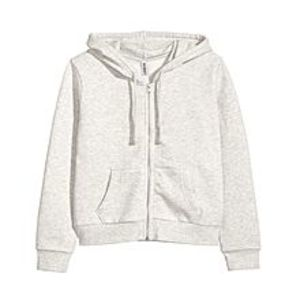 A&GHooded Sweatshirt Jacket