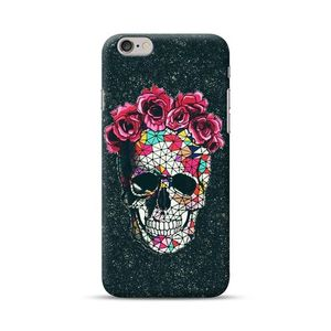 Skull With Roses Cover For Iphone 6