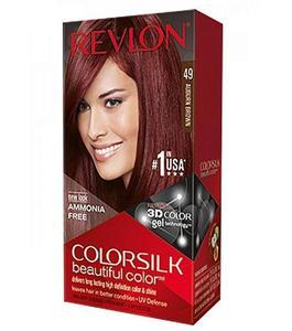 Color Silk 3D Technology Usa For Men & Women #49 Auburn Brown