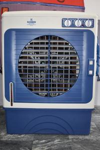 Rainbow Style Full Size Water Air Cooler  ( Blue & White )