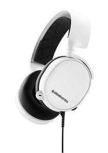 SteelSeries Arctis 3 (2019 Edition) All-Platform Gaming Headset for PC, PlayStation 4, Xbox One, Nintendo Switch, VR, Android, and iOS - White (61506)