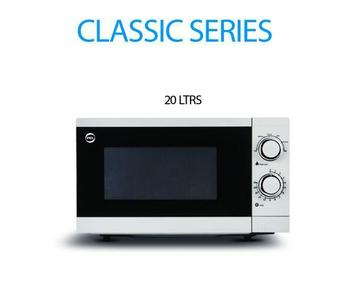 PEL PMO-20 Manual Microwave Oven 20 Liters - White