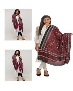 Multicolor Color Sindhi Ajrak for Women - Es-221