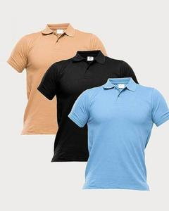 Pack of 3 - Multi-Color Polo Shirts