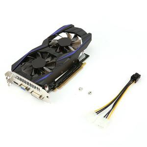 4GB DDR5 Gaming Graphics Card GTX1050TI Video For Desktop Computer