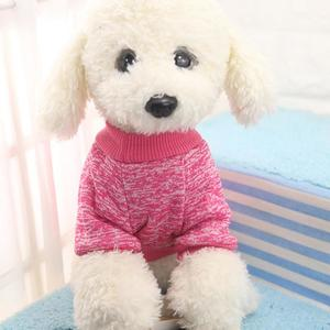 Perfect Meet 2019 New 8 Color Pet Dog Puppy Classic Sweater Fleece Sweater Clothes Warm Sweater Winter