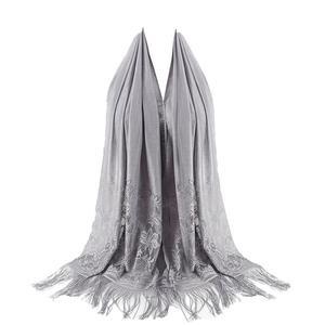 MissFortune Women's Fashion Fringed Printed Cotton Parisian  Shawl Soft Beach Towel  Scarf