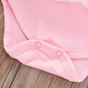 MissFortune Summer Newborn Baby Girls Bowknot Net Yarn Formal Romper JumpsuitClothes