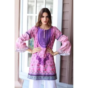 So Kamal Winter Collection  Pink Karandi Embroidered 1PC -Unstitched Shirt DPW18 764 EF01279-STD-PNK