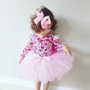 Toddler Kids Baby Girl Floral Princess Tulle Causual Party Dress Clothes