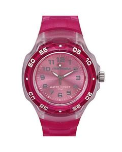 Timex Pink Rubber Strap Iron Kids