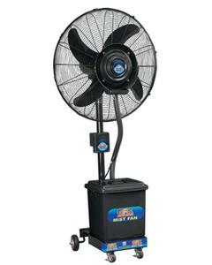 GFC Mist Fan Pedestal - Copper Winding - Heavy Duty Motor - 24″