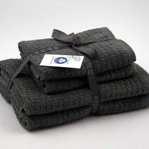 Alkaram Towel 4 - Piece Towel Set Grey