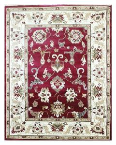 Heavy Traditional Rug - Synthetic - 4X6 - Red