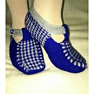 Mr.MallKashmiri Hand Made Stylish Woolen Socks