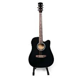 "Slash 40"" Semi Acoustic Guitar - Black"