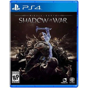 Sony Playstation 4 Dvd Middle Earth Shadow Of War Ps4 Game