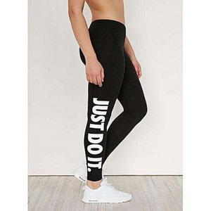 T Shirts & Tops Summer Collection 2019 Black Just Do It Printed tights For women