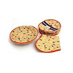 H.N.StorePack Of 3 - Roti Basket - Multcolor