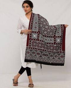Multi Color Sindhi Ajrak Sl-003