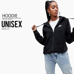 Zipper hoodie sweatshirt zipper street wear hoodies sweatshirts fleece Jacket coat fashion oversize tracksuit Black