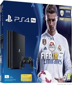PlayStation 4 Pro 1Tb With FIFA 18 Ronaldo Edition