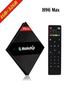 H96 Pro Plus Android TV Box – 3GB+32GB OctaCore 4k Ultra HD TV 7.1V – Black