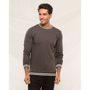 Styleo Charcoal Sweat shirt for men
