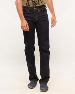 Dark Blue Slim Fit Stretchable Jeans for Men