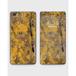 Huawei Honor P8 Lite (2015) Skin Wrap Yellow Wood- 1Wall4
