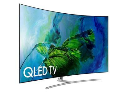 "Samsung 65"" Class Q8C Curved QLED 4K TV"