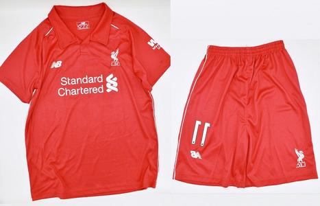 1x Standard Chartered Football Kit