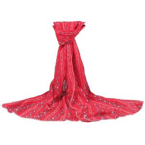 FashionieStore Woman's scarf Women Sunscreen Printed Soft Chiffon Shawl Wrap Wraps Scarf Scarves