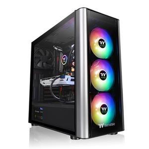 Thermal take Gaming Casing (Level 20 MT ARGB) - MSI 4th Gen Board - i5 4th Gen - 8GB DDR3 - 1 TB HDD 120GB SSD - 500W Power Supply - 2GB 750ti Graphics Card - Gaming Pc