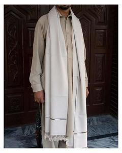 Best Quality Handmade Woolen Shawl - Off-White