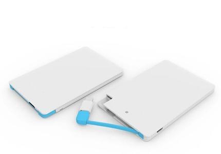 Ultra Slim Power Bank - White 3000mah