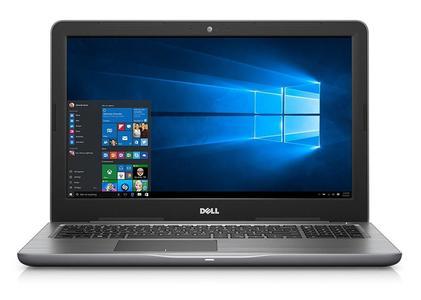 "Dell Inspiron 5567 Coreâ""¢ i5-7200U 2.5GHz 256GB SSD 8GB 15.6"" (1366x768)DVD-RW BT WIN10 Webcam GRAY Backlit"