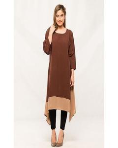 Brown Stylish Kurti For Her K01