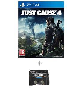 PLAYSTATION 4 DVD Just Cause 4 PS4 GAME PLUS KONTROL FREEK