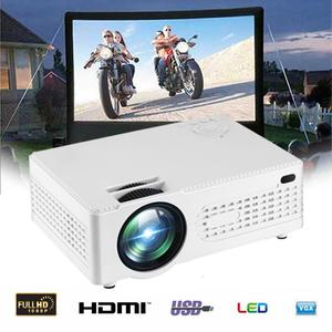 Loveliness 2000 Lumens Multimedia Projector 1080P DLP WiFi LED Home Theatre Cinema HDMI Bluetooth